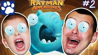 ПРИКЛЮЧЕНИЯ РЕЙМАНА [#2] | Прохождение игры Rayman Adventures | Матвей Котофей на русском