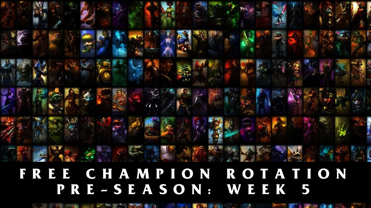 Free League of Legends Champions Season 4 | Pre-Season Week 5