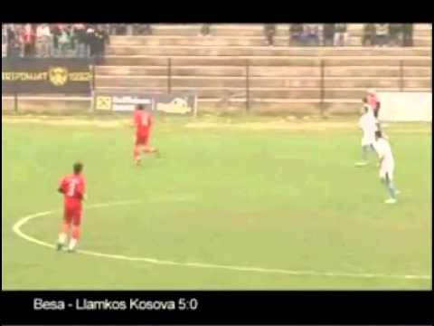 Besa 5 : 0 Llamkos Kosova (V) (18/11/2012)