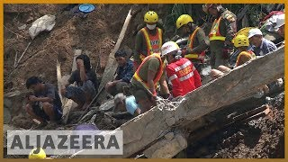 🇵🇭 Philippines rescuers dig for Mangkhut survivors with bare hands | Al Jazeera English - ALJAZEERAENGLISH