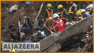 🇵🇭 Philippines rescuers dig for Mangkhut survivors with bare hands | Al Jazeera English - ALJAZEERAENGLISH