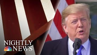 California AG Planning 'Imminent' Legal Battle To Trump's National Emergency | NBC Nightly News - NBCNEWS