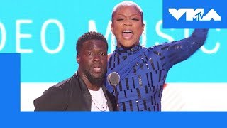 Tiffany Haddish & Kevin Hart Roast 🔥 the VMA Audience | 2018 Video Music Awards - MTV