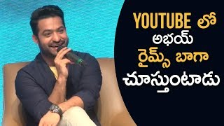 JR NTR Funny Answers About Mobile Apps | TFPC - TFPC