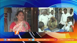 Chennur TRS MLA Nallala Odelu Warning Farmer | Audio Tape Hulchal in Social Media | iNews - INEWS