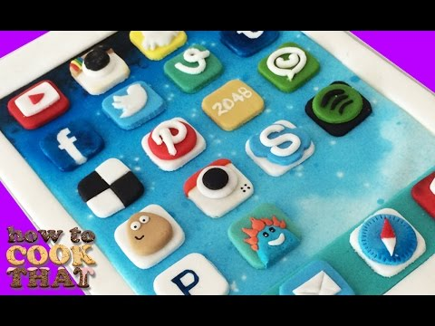 IPAD CAKE Best Apps HOW TO COOK THAT Ann Reardon