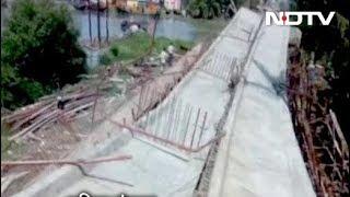 पश्चिम बंगाल में इस महीने तीसरी बार गिरा पुल - NDTVINDIA
