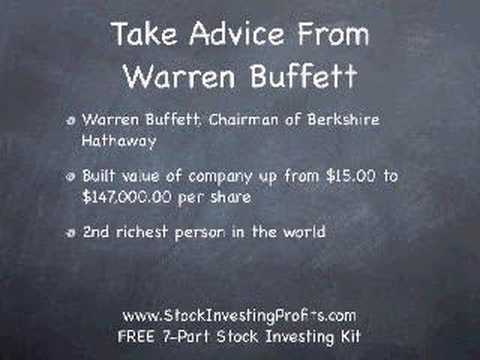 Stock Investing Strategy