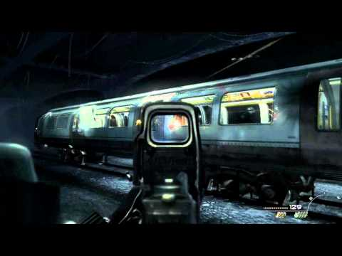 Modern Warfare 3: London Underground Train crash!