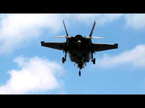 Interview with the first Royal Air Force test pilot to land the F-35B vertically