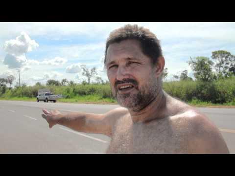 Acidente na rodovia de acesso do Posto Fiscal Itamarati a Aparecida do Taboado