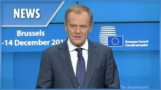 Tusk: Brexit withdrawal agreement is not negotiable - THESUNNEWSPAPER