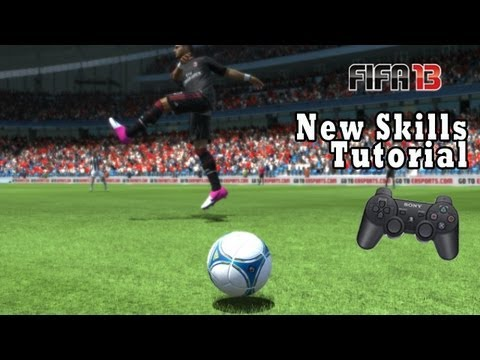 FIFA 13 New Skills Tutorial (PS3) -oxvoS4gOf64
