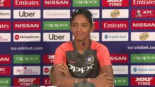 India captain Harmanpreet Kaur speaks ahead of the ICC WWC T20 semi finals - CRICKETWORLDMEDIA