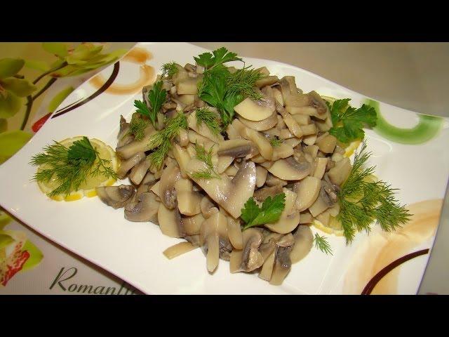 Украсить салаты грибами и зеленью фото