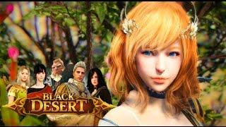 Black Desert Online - ЗБТ Россия | 1080p 60fps | Первый Взгляд