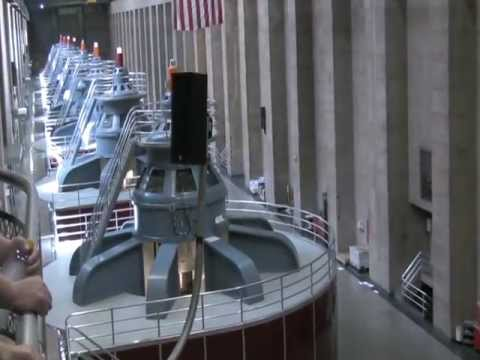 Hoover Dam and Hydroelectric Power Plant Tour Part 2 of 2 - 2009.07.04 - HD