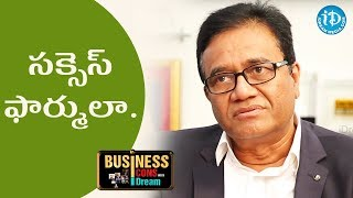 PV Rao About His Success Formula || Business Icons With iDream - IDREAMMOVIES