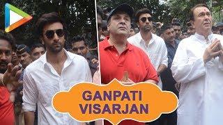 Ganpati Visarjan with Ranbir Kapoor,Rishi Kapoor & Randhir Kapoor at RK Studio Part 2 - HUNGAMA