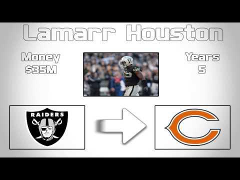 Chicago Bears sign Lamarr Houston