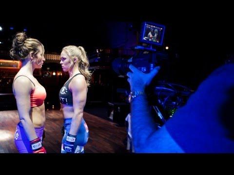 Strikeforce - Miesha Tate vs. Ronda Rousey: Behind-the-Scenes Video Shoot - SHOWTIME Sports