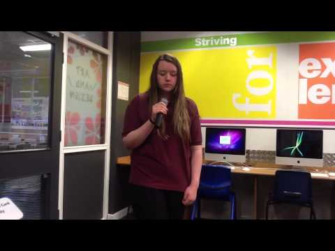 Leicestershire & Rutland Talent Competition Redmoor Amy-Kate Stevens