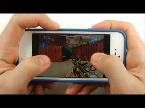 Official iPhone 5 N.O.V.A. 3 Gameplay Demo LIVE - No Lag