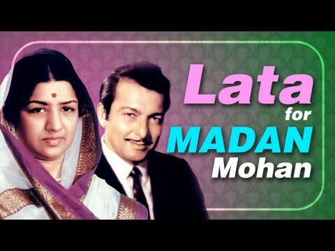Lata Mangeshkar for Madan Mohan -Jukebox - Top 10 Lata songs for Music Director Madan Mohan