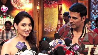"Akshay Kumar and Tamannaah promote ""Entertainment"" - HUNGAMA"