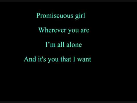 Promiscuous Girl With Lyrics