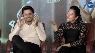 Bheeshma Movie Team Hilarious Interview | Nithiin | Rashmika | Vennela Kishore | Brahmaji - TFPC