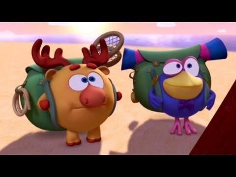 Кадр из мультфильма «Смешарики. Новые приключения. Шлагбаум»