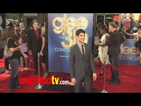 Darren Criss Attends &quot;GLEE THE 3D CONCERT MOVIE&quot; Premiere