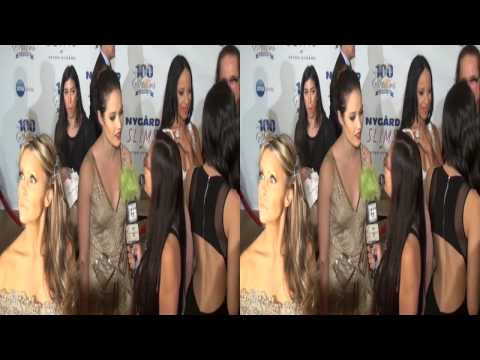 "Jaclyn Betham ""The Haves and the Have Nots"" interview at the Night of 100 Stars"