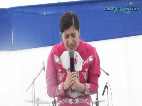 Hna Gladys Muñoz  2da Expo del Culto al Cultura Evangelica Talca 2013
