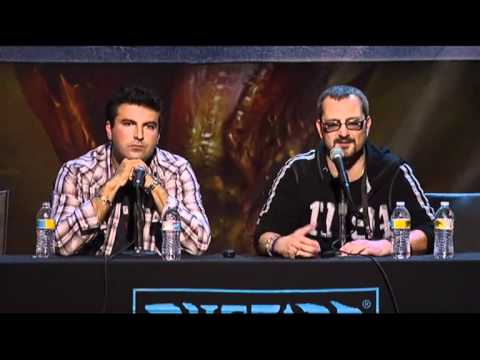 Blizzcon 2010 WoW Cataclysm Quests and Lore part 2