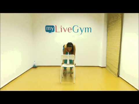 Ασκήσεις γυμναστικής με καρέκλα μόνο στο MyLiveGym!
