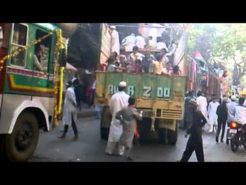 Eid milad un nabi 2012 in mumbai govandi to nagpada part 1