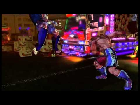 Street Fighter X Tekken - Yoshimitsu & Steve Fox Gameplay Trailer