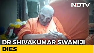 Karnataka Seer, 111, Dies; HD Kumaraswamy, BS Yeddyurappa United In Grief - NDTV