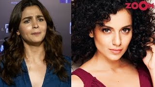 Alia Bhatt gives a HARD HITTING reply to Kangana Ranaut & REACTS to tanking of Kalank on box office - ZOOMDEKHO