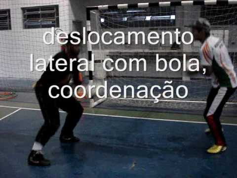 8) TREINAMENTO GOLEIRO FUTSAL GOALKEEPER TRAINING(PROFESSOR TIAGO PONTES)
