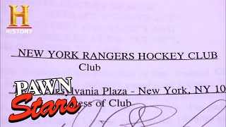 Pawn Stars: Wayne Gretzky's NHL Player's Contract (Season 7) | History - HISTORYCHANNEL