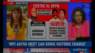 Niti Aayog Meet can bring historic change, says Prime Minister Modi - NEWSXLIVE