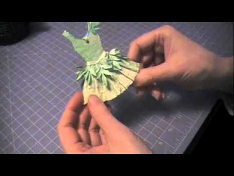 Paper Couture 8: Green Fairy Paper Dress