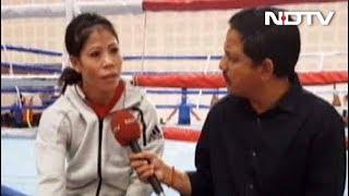 NDTV से बोलीं मैरीकॉम, बॉक्सिंग वर्ल्ड चैंपियनशिप में छठा गोल्ड जीतने का है सपना - NDTVINDIA