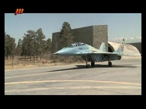 Iran One day with Iranian MiG 29 pilots يك روز با خلبانان ايراني جنگنده ميگ 29