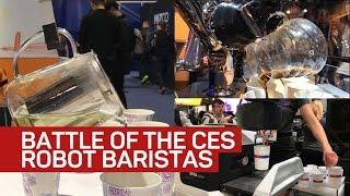 Battle of the CES robot baristas - CNETTV