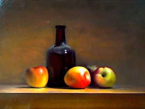 'Old master' still life painting...