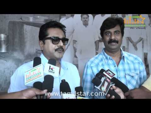 Sarathkumar at Thalapakatti Restaurant Inauguration